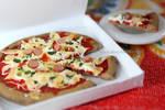 Pizza - Clay miniature