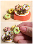 Donuts charms