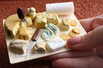 Formaggi - Clay Miniature by thinkpastel