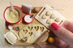 Cookies prep board - Size
