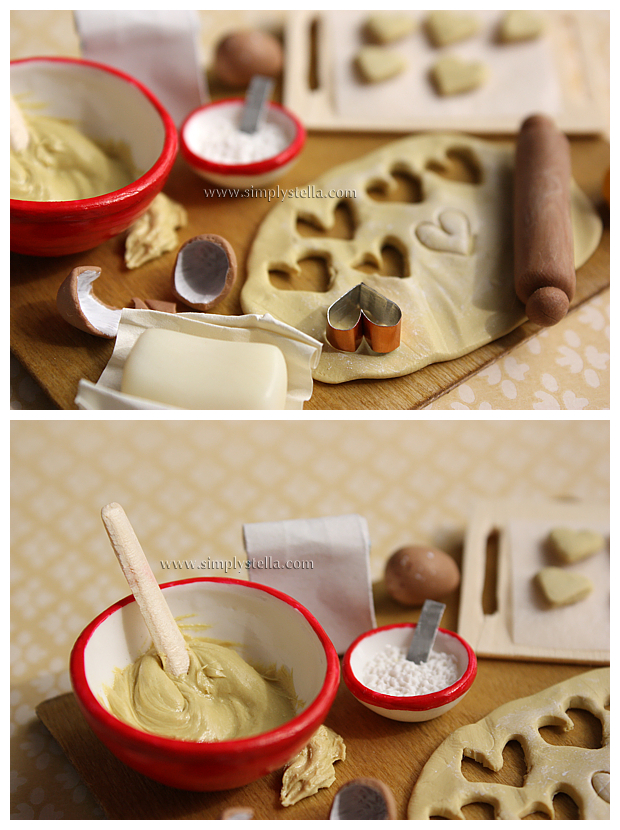 Cookies prep board - Close Up by thinkpastel