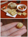 Chicken soup - 1:6 miniature