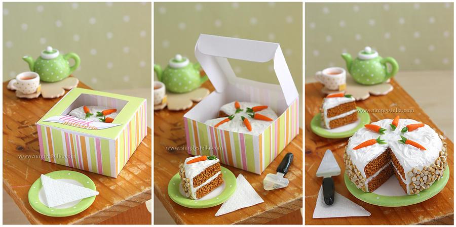 Carrot Cake, take II by thinkpastel
