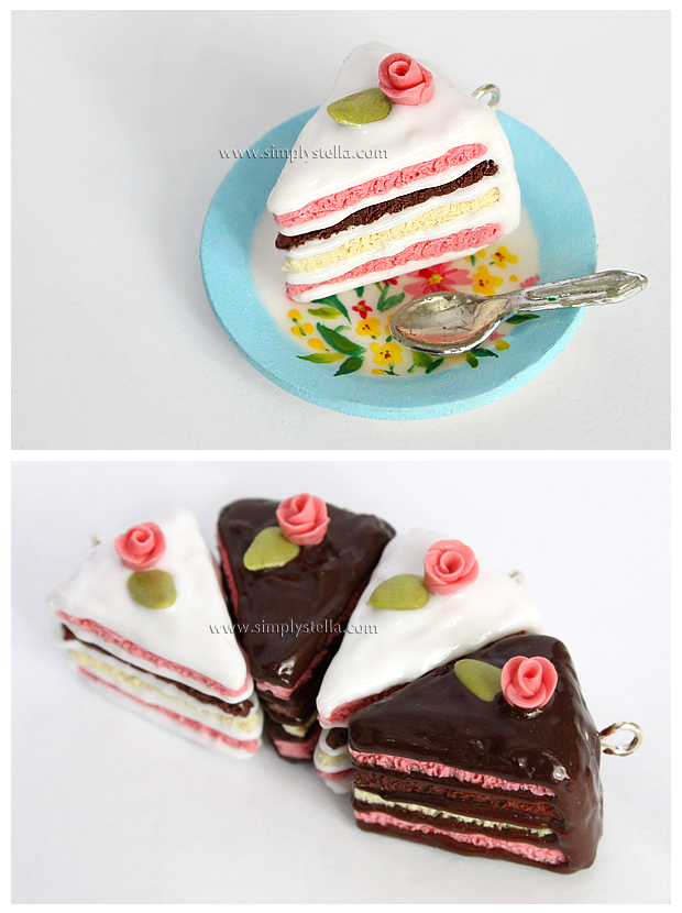 Shabby Chic Cake Charms by thinkpastel