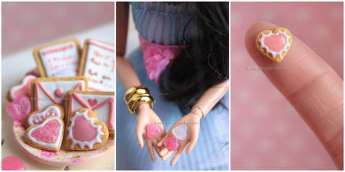 Valentine's Cookies by thinkpastel