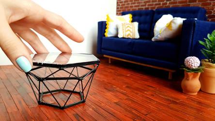 Miniature Coffee Table (+ DIY VIDEO Tutorial)
