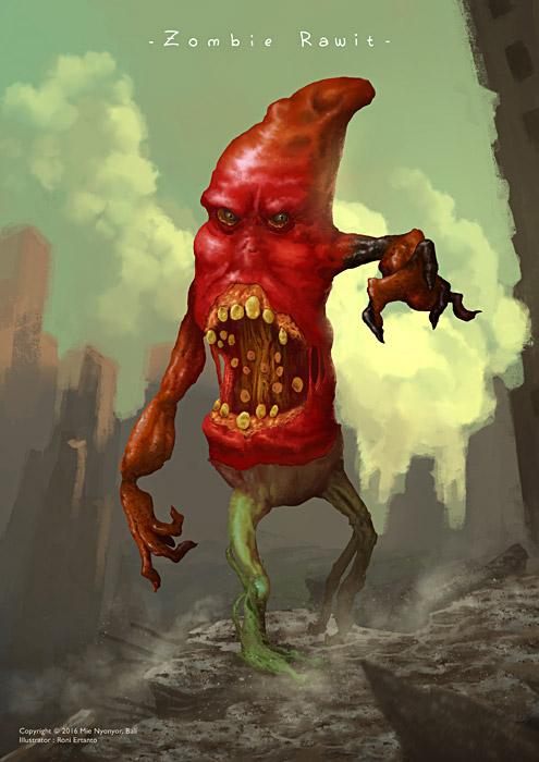 Zombie Rawit by ndolop