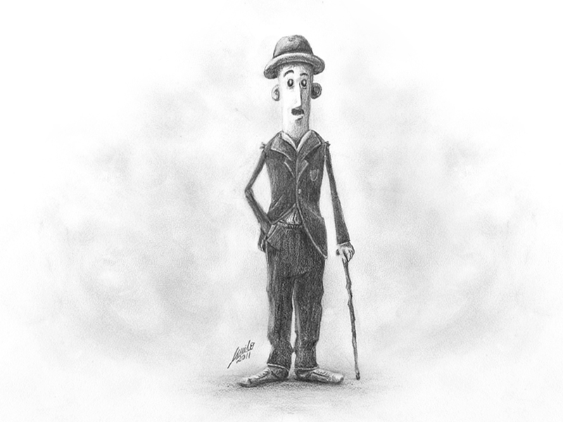 Charlie Chaplin by muriloVM