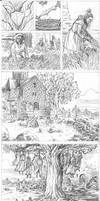 Dark Ages pages 7-13 pencils