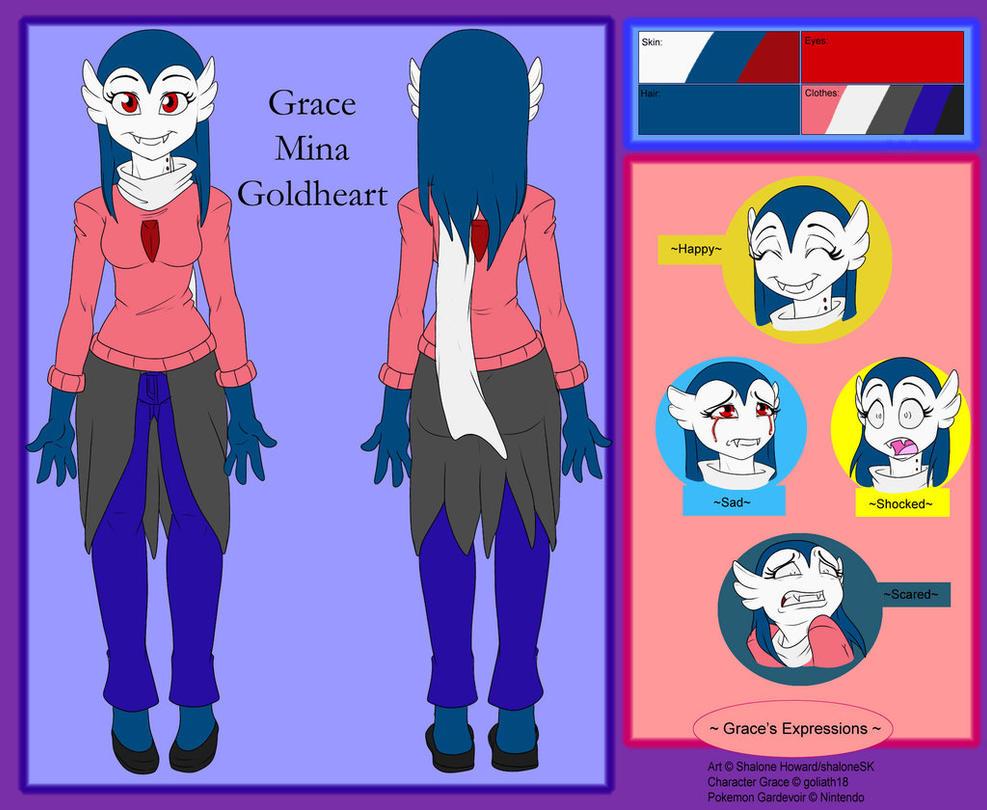 Grace Mina Goldheart Ref by goliath18