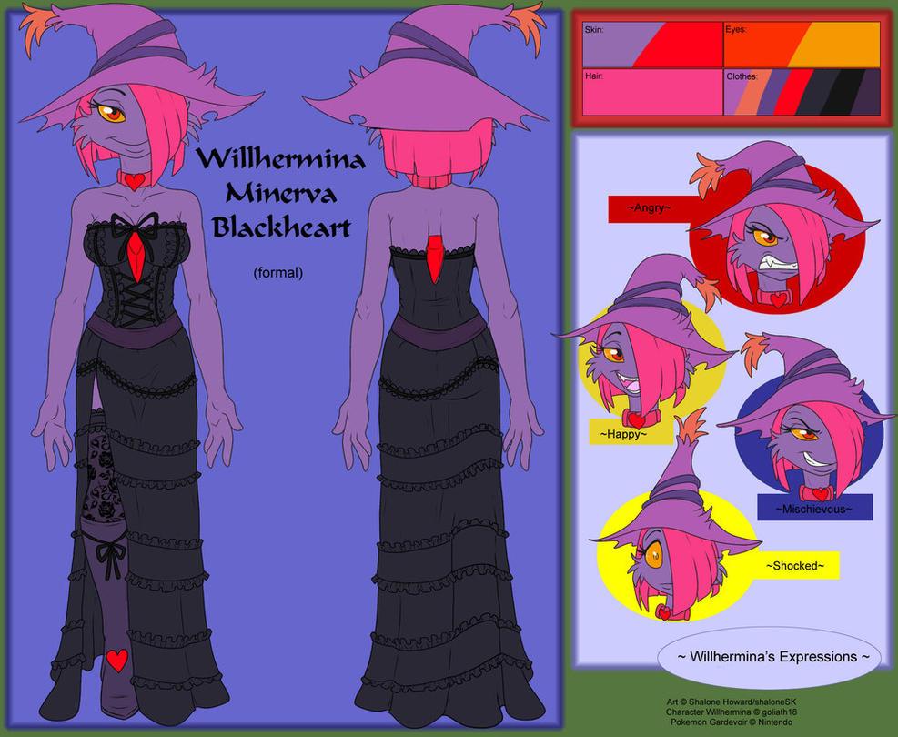 Willhermina Minerva Blackheart Ref Formal by goliath18