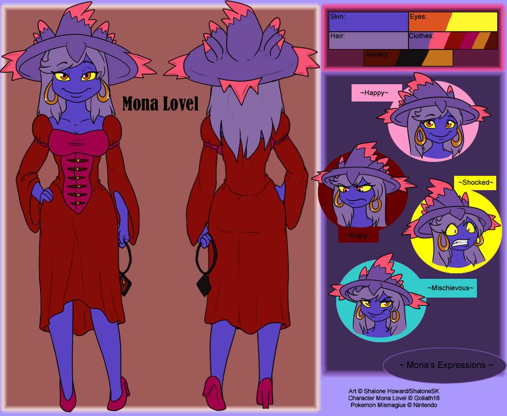 Mona Lovel Ref by goliath18