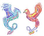 Dragon and Firebird