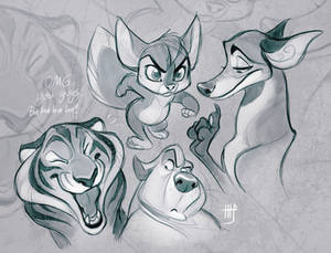 Critter Sketches