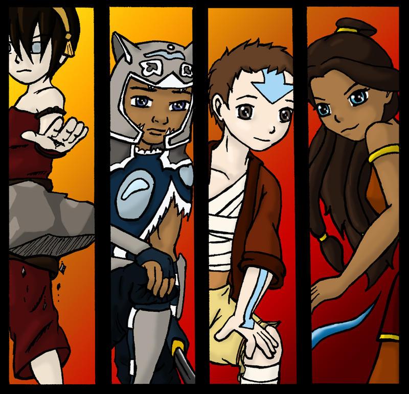 Avatar Movie Coloring Pages: Season 3 Printable Bookmarks By Lilfirebender On DeviantArt
