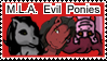 MLA Stamp Evil Ladies by lilfirebender
