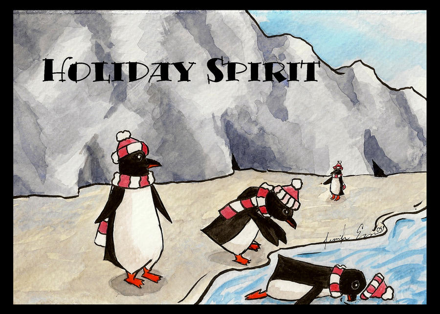 Holiday Spirit by lilfirebender
