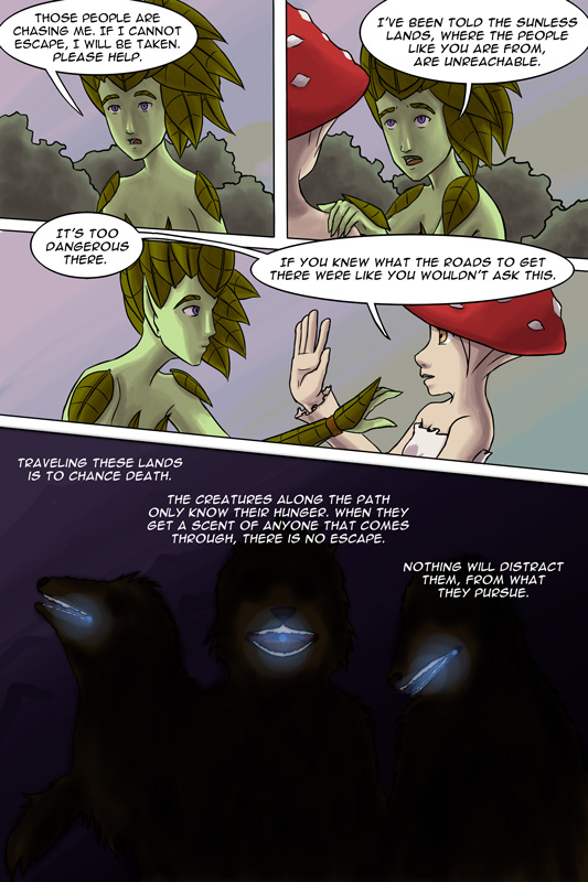 The Interactive Comic Page 03 by lilfirebender