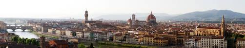Florence Panorama by WonderLemming