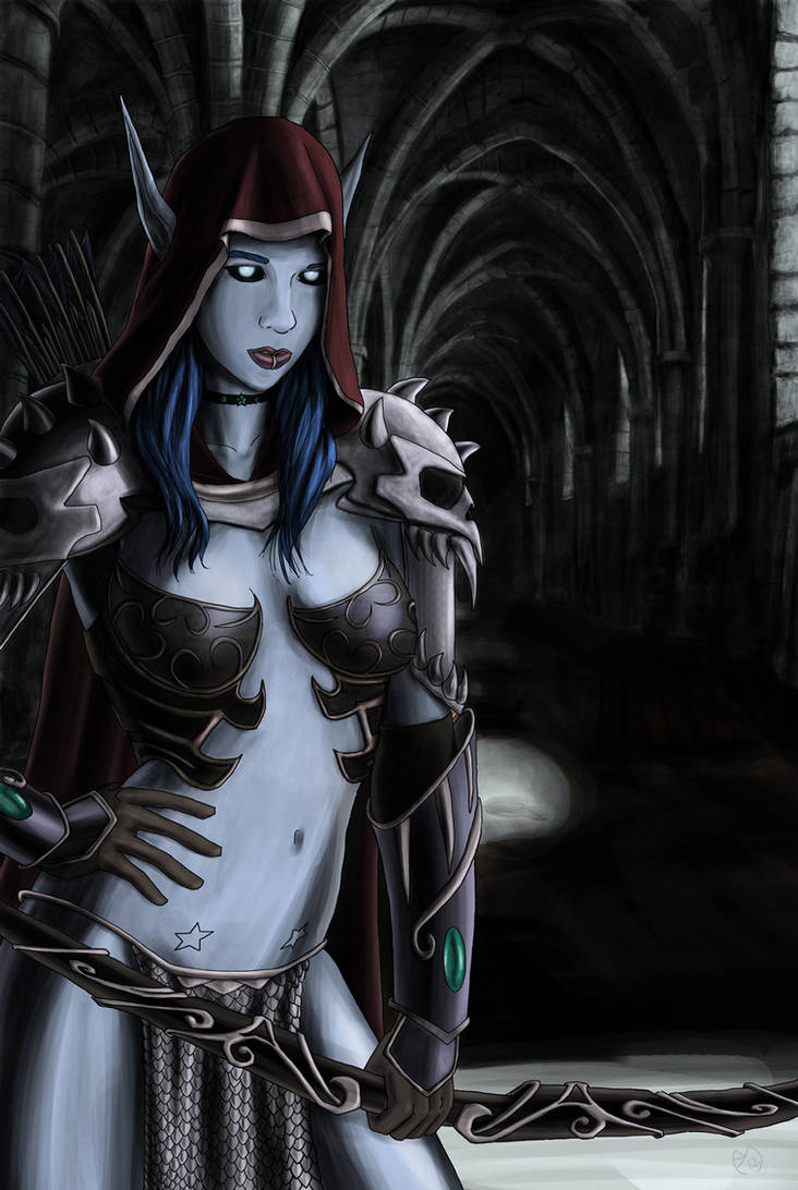 Chelsea as Sylvanas from Wow