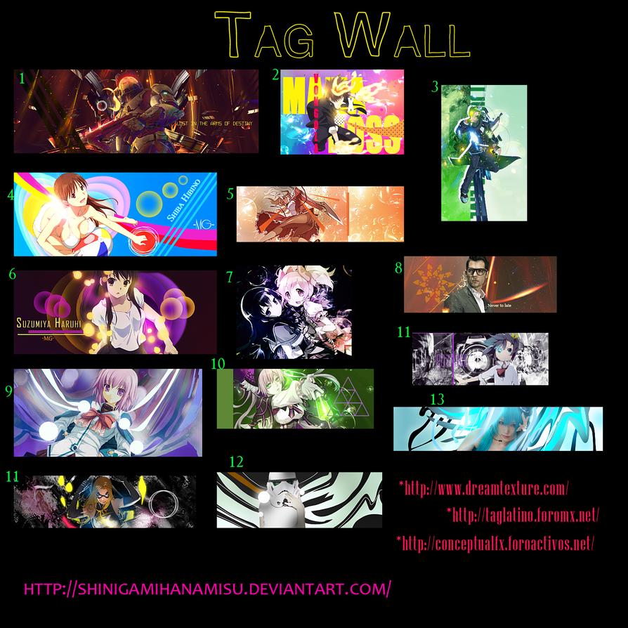 Tag Wall Rarito by Shinigamihanamisu