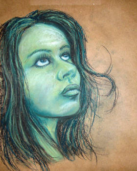 Pastel Portrait Study II