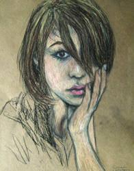 Pastel Portrait Study III
