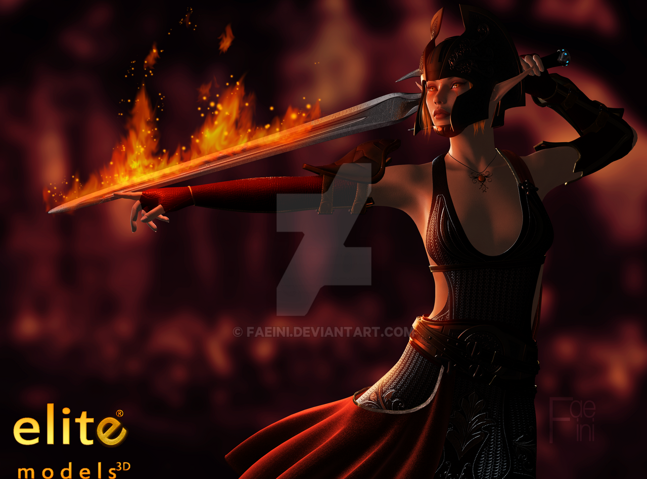 The Sun Warrior by Faeini