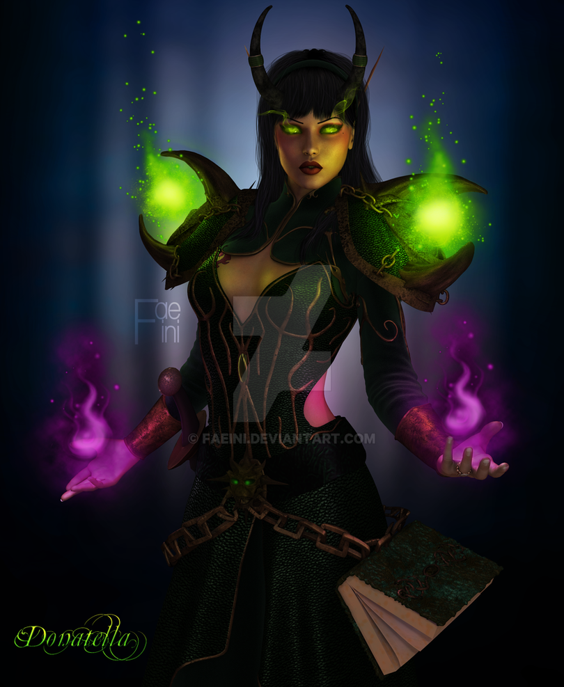 Donatella - Warlock by Faeini