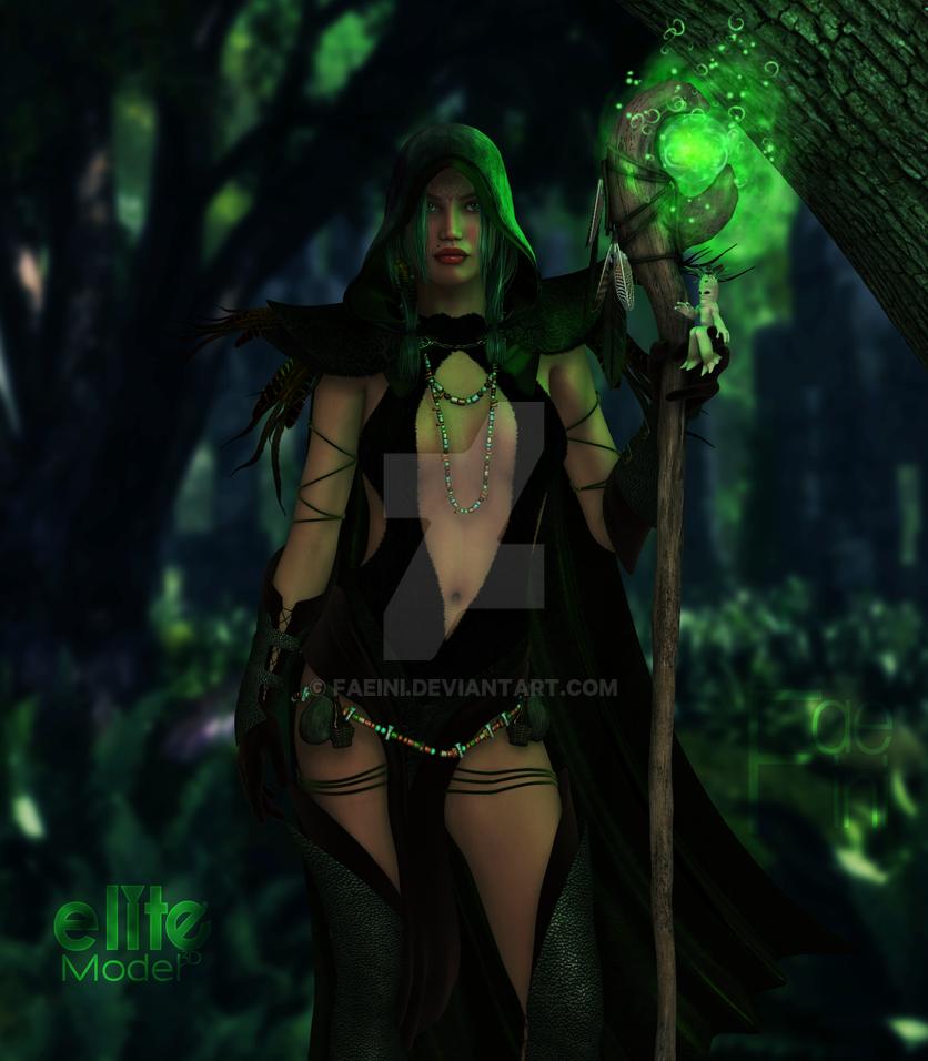 The Druid by Faeini