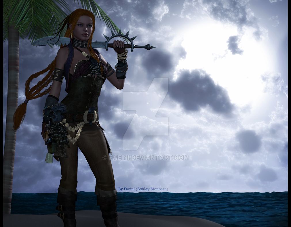 Voodoo Pirate by Faeini