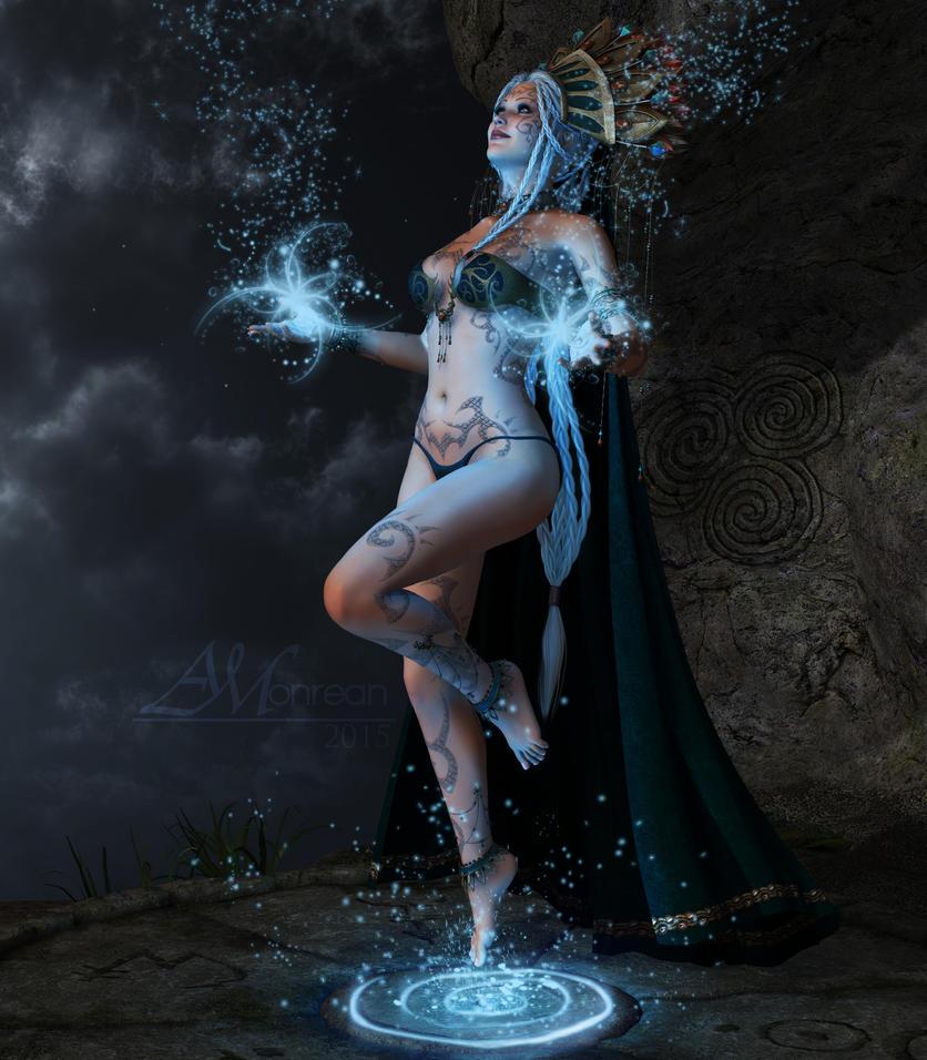 The Night Priestess by Faeini