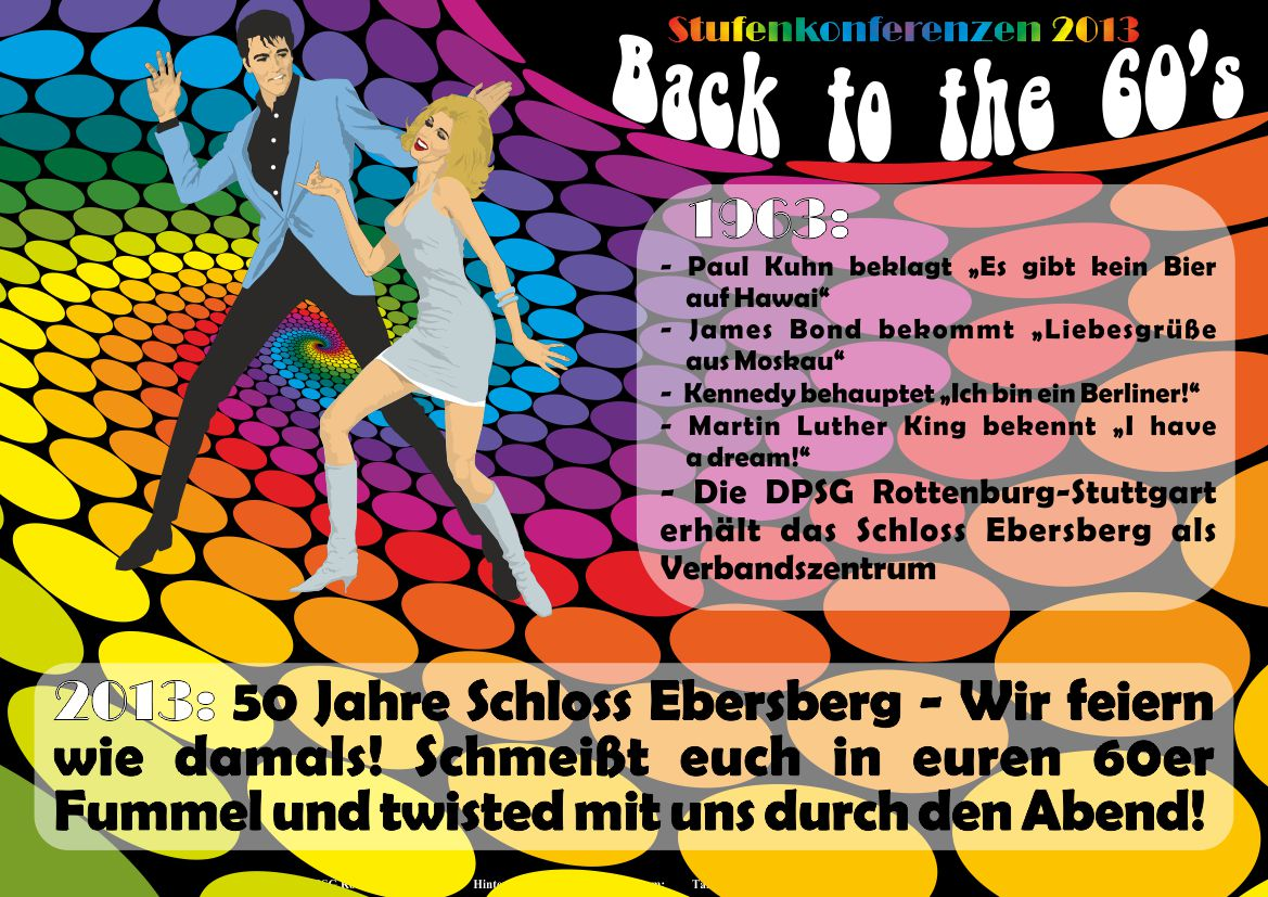 60s Party Flyer by Sarkytob on DeviantArt