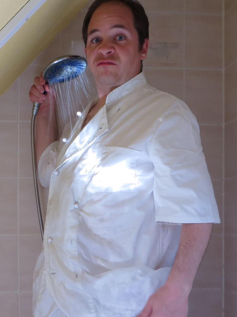 Weste weiss waschen by Sarkytob