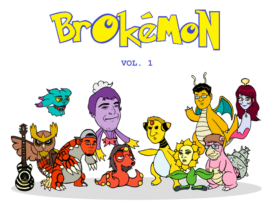 BROkemon vol.1 by DrQArt