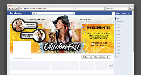 Event Facebook Timeline Cover by MarioGembell
