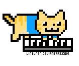 Nyan Keyboard Cat by Lintunen