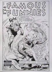 Recreation Fam. Funnies #210 after Frank Frazetta