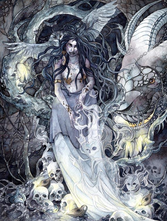 Ereshkigal  by Ameluria