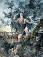 Morrigan by Ameluria