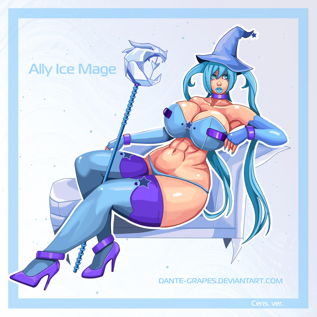 Ally Ice Mage by Dante-Grapes
