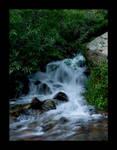 Sierra Buttes Waterfall by yashachan