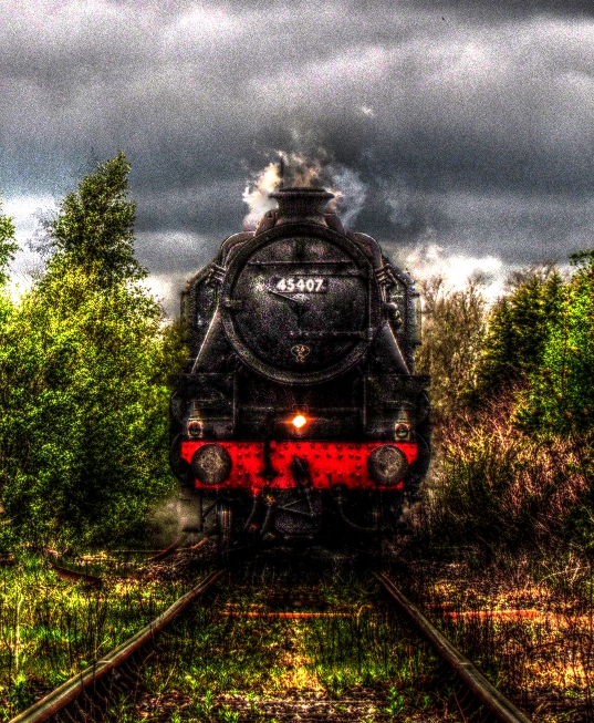 The Train by Jakkar