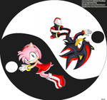 Amy and Shadow .::Ying-Yang::.