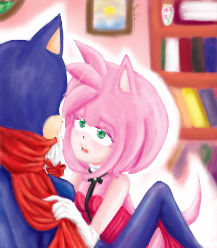 Sonic x Seduction by xX-PinkRose-Xx
