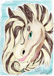 Commission: Harut Headshot by Silvah-Rush