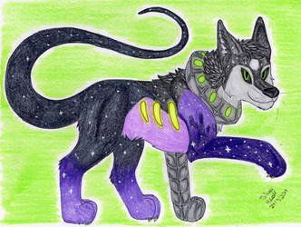 Art Trade: AstrexCorp 3/4 by Silvah-Rush
