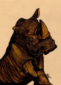 Bored Rhino