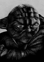 Star Wars- Yoda BW Concept