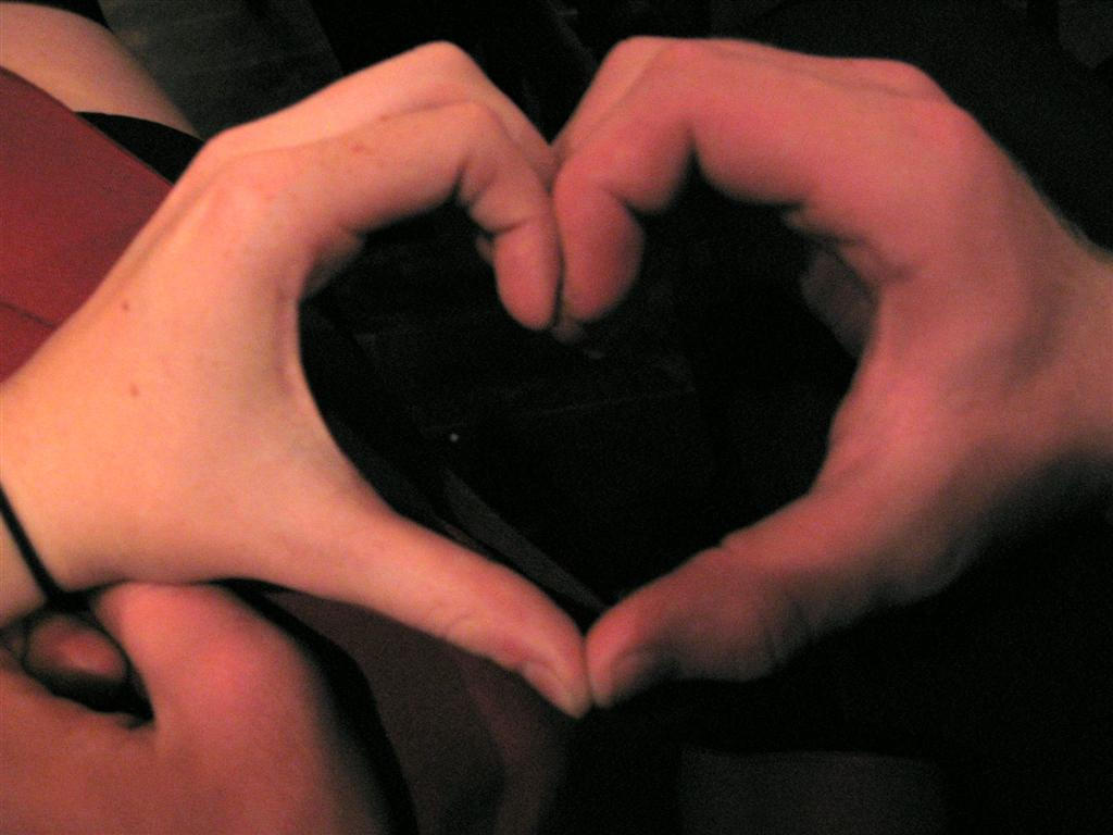 making heart by hands - photo #8